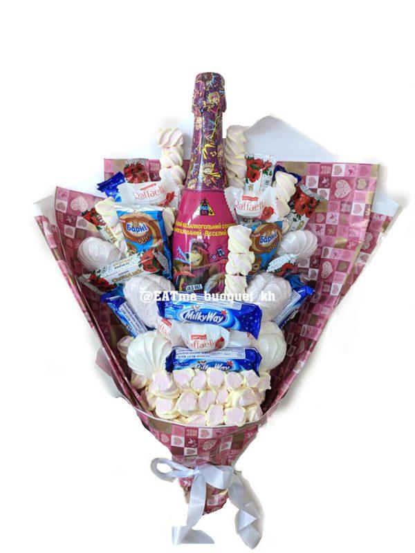 Сладкий букет для девочки в Харькове