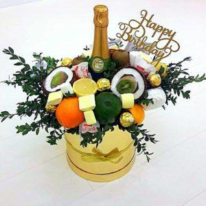 Букет из фруктов «Бомба»