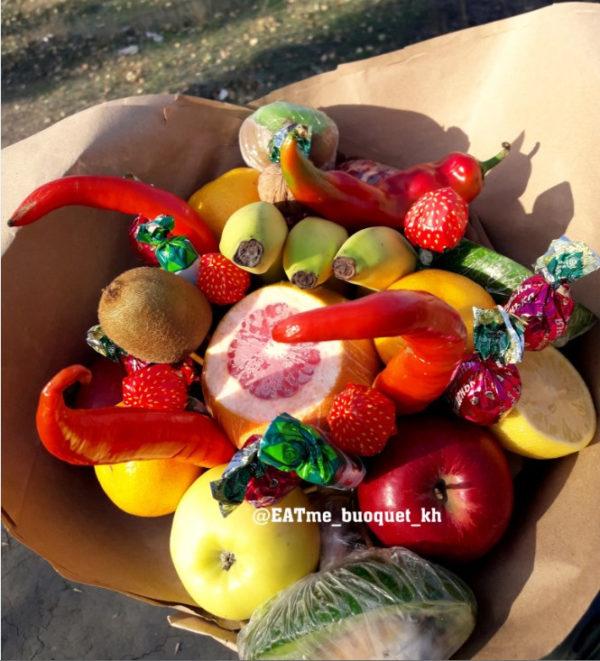 """Букет из фруктов """"Фруктовое ассорти"""""""