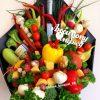 коньячный-овощной букет