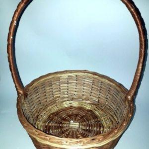 Плетеные корзины для букетов