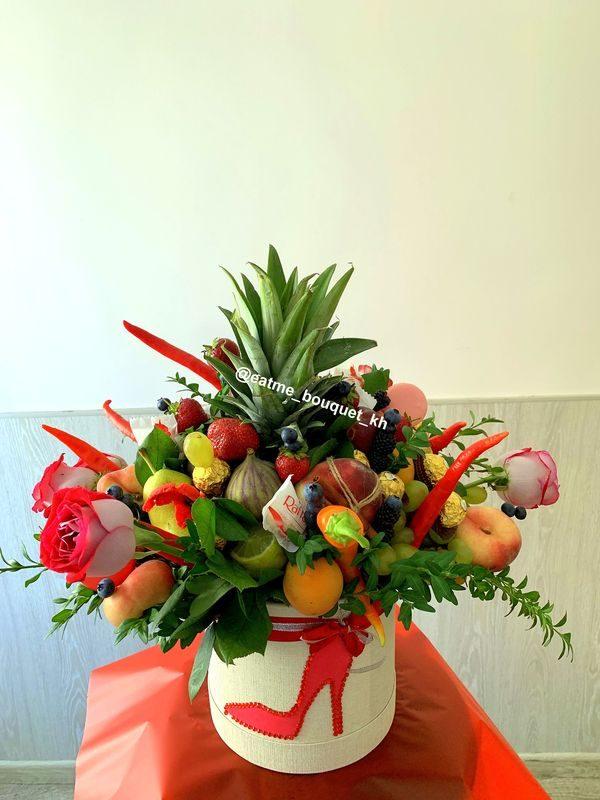 фруктовый букет в коробке