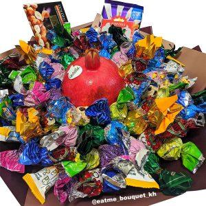 Букет из конфет «Сладкий ноябрь»