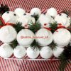 Снеговики из зефира в Харькове