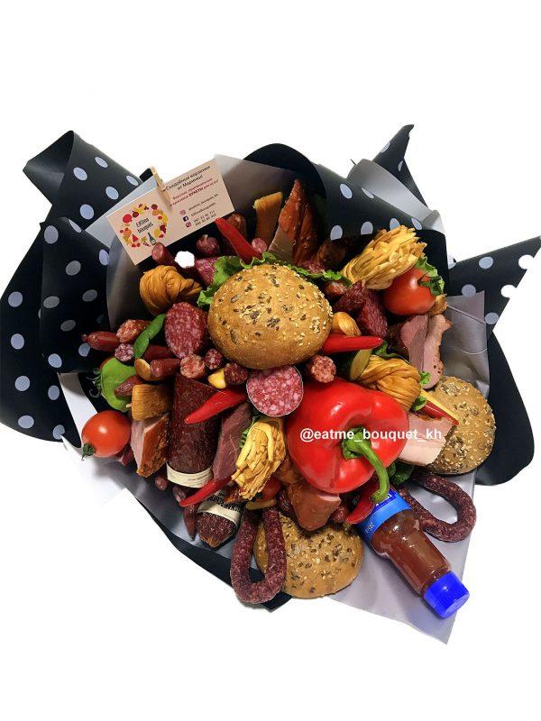 Букет из колбасы и мяса в Харькове