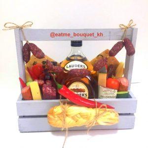 Подарочный ящик с виски