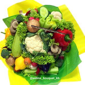 Букет из овощей и грибов