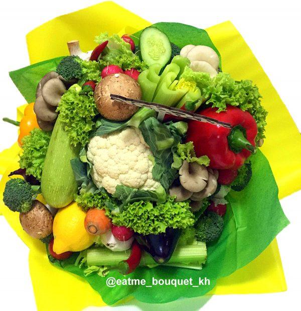 Овощной букет на 8 марта