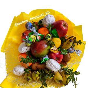 Букет из семи видов фруктов