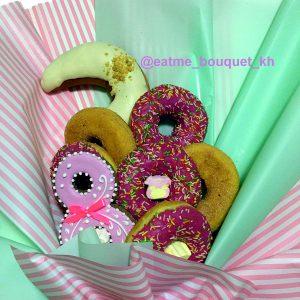 Букет из пончиков