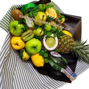 Букет из фруктов и Martini