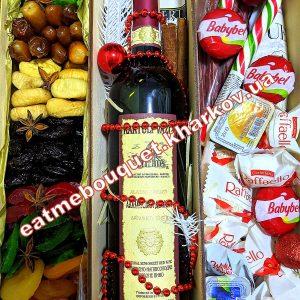 Бокс с вином на новый год