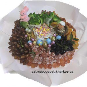 Пасхальный букет из сухофруктов